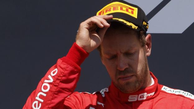 Canadian GP: Sebastian Vettel's massive if understandable sulk thumbnail