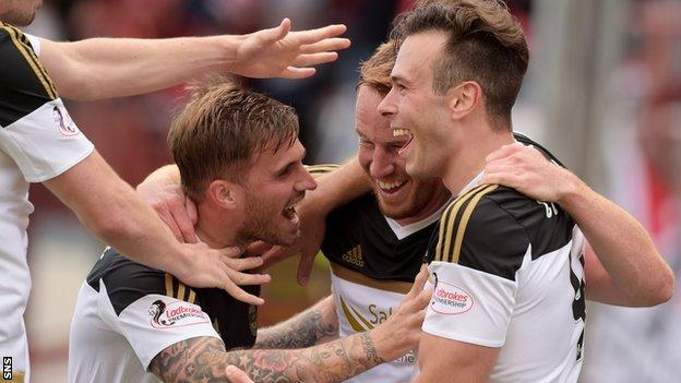 Aberdeen won their first five games of the season for the first time since 1984