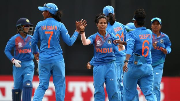 Women's World Twenty20: India beat Australia to top Group B