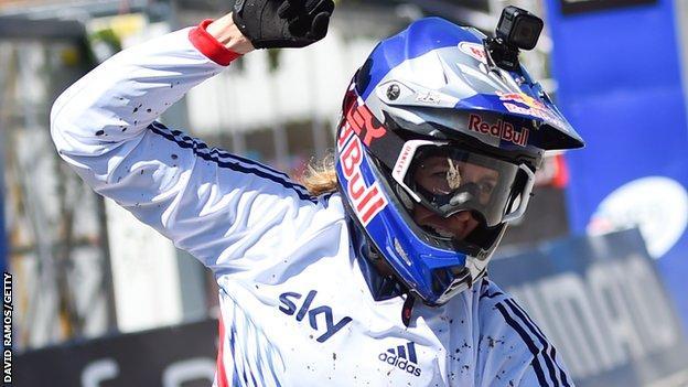 Rachel Atherton wins in Andorra