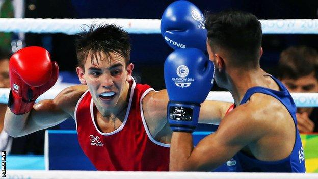 Michael Conlan in action at last year's Commonwealth Games
