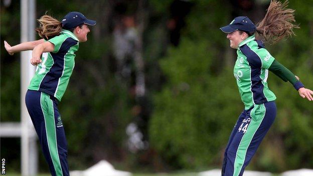 Isobel and Cecelia Joyce were key to a comfortable win over Zimbabwe