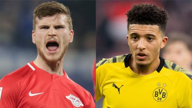 Transfer rumours: Sancho, Werner, Holgate, Lozano, Pogba, Sturridge thumbnail