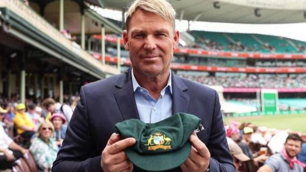 Shane Warne: Australia legend's Baggy Green cap raises A$1m for bushfire charity at auction thumbnail