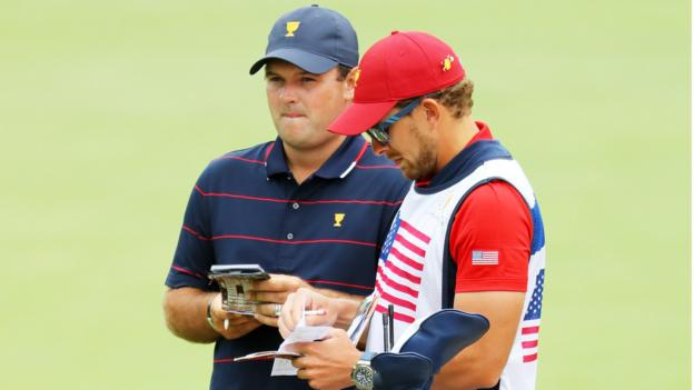 Presidents Cup: Patrick Reed's caddie involved in altercation win fan thumbnail