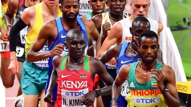 Kenenisa Bekele in competition