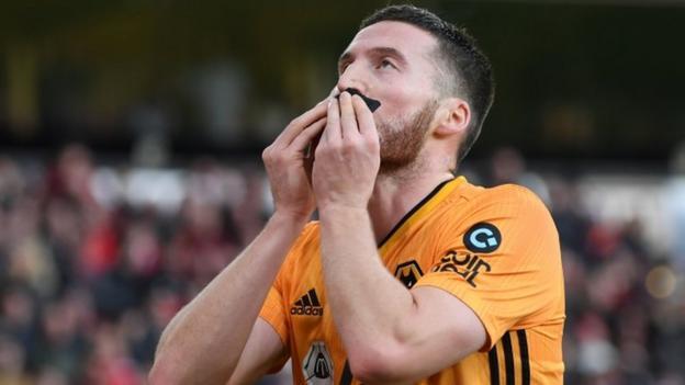 Wolverhampton Wanderers 1-1 Sheffield United: Matt Doherty header denies Blades thumbnail