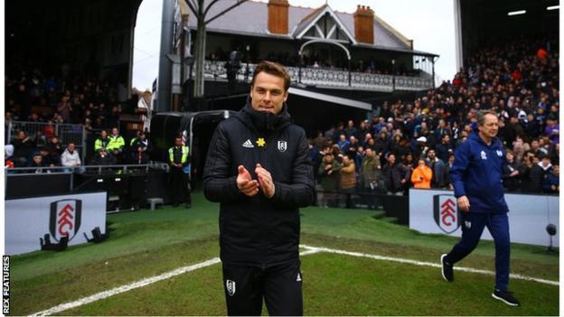 Fulham caretaker manager Scott Parker