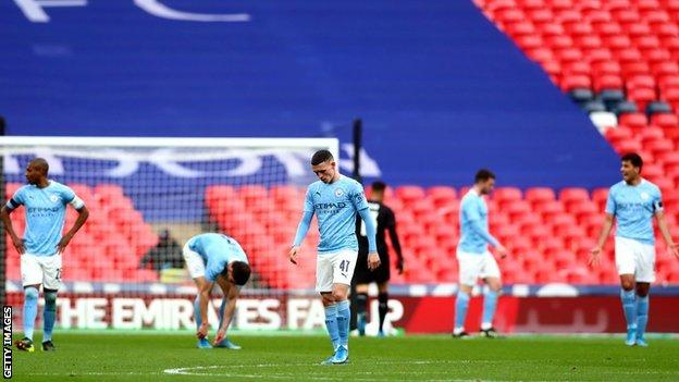 Phil Foden started on the bench for Manchester City