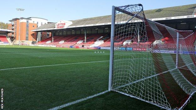 Leyton Orient's Breyer Group Stadium