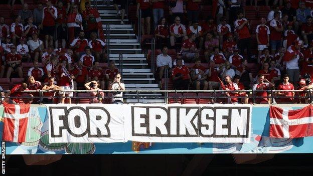 Christian Eriksen tributes