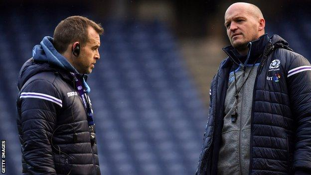Danny Wilson and Gregor Townsend