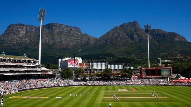 Newlands Stadium in Cape Town