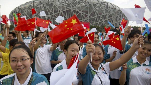 Beijing residents react to the city's successful bid