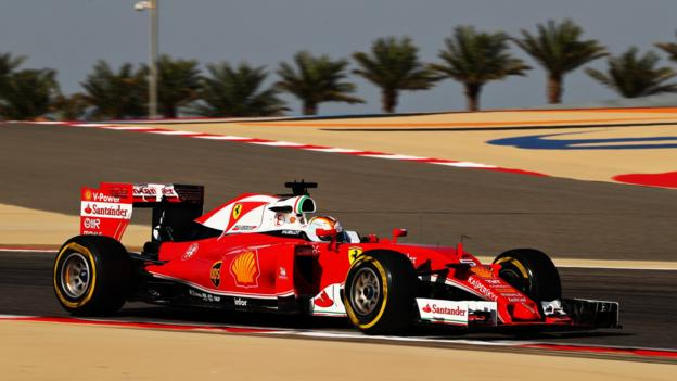 Bahrain GP: Sebastian Vettel top as Ferrari beat Mercedes ...