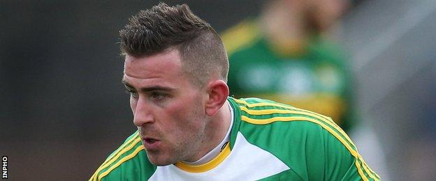 Donegal's Paddy McBrearty made his county senior debut while still a minor