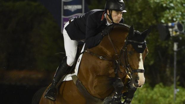 Olympia Horse Show William Whitaker Rides To Victory In