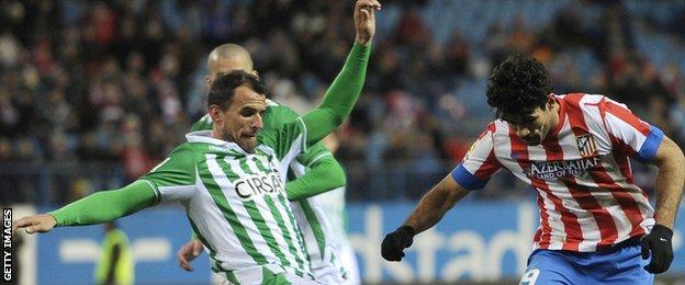 Antonio Amaya and Diego Costa
