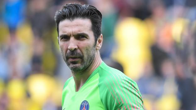 Gianluigi Buffon to leave Paris St-Germain at end of month thumbnail