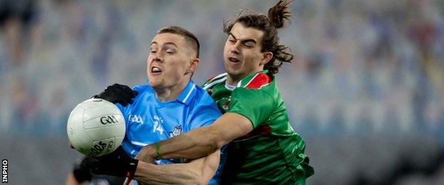 Dublin and Mayo met in the rescheduled 2020 All-Ireland football final on 19 December
