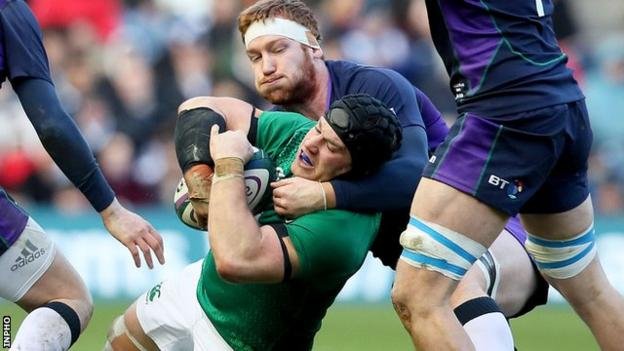 Sean O'Brien won his 54th cap for Ireland in the Six Nations win over Scotland at Murrayfield