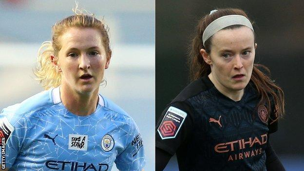 Manchester City are currently fourth in the Women's Super League table