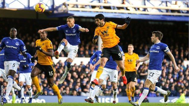 Everton 1-3 Wolverhampton Wanderers - BBC Sport