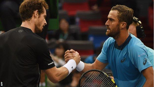 Andy Murray and Steve Johnson