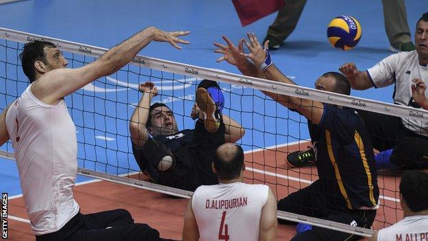 Iran men's sitting volleyball team