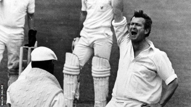 Malcolm Nash captained Glamorgan in 1980 and 1981