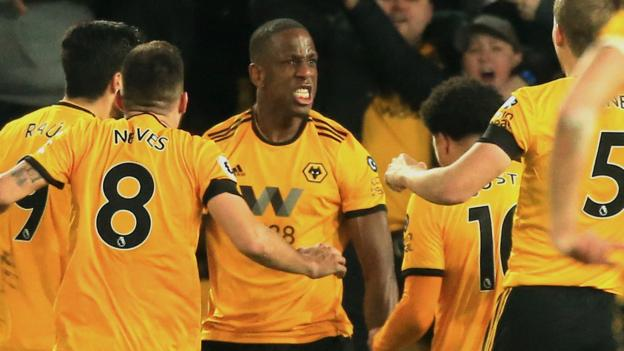 Wolverhampton Wanderers 1-1 Newcastle United: Willy Boly header denies Newcastle thumbnail