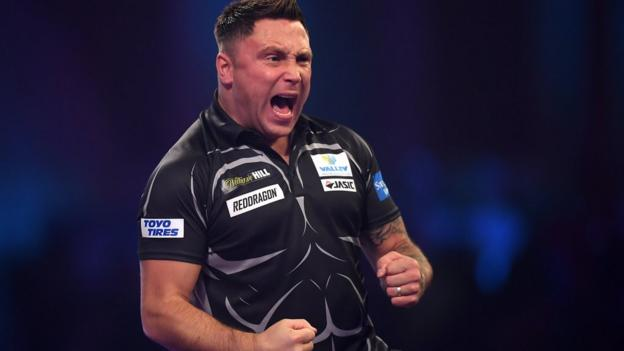 PDC World Championship: Gerwyn Price apologises for spat with Peter Wright thumbnail