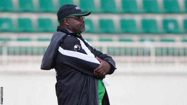Kenyan coach Jacob 'Ghost' Mulee