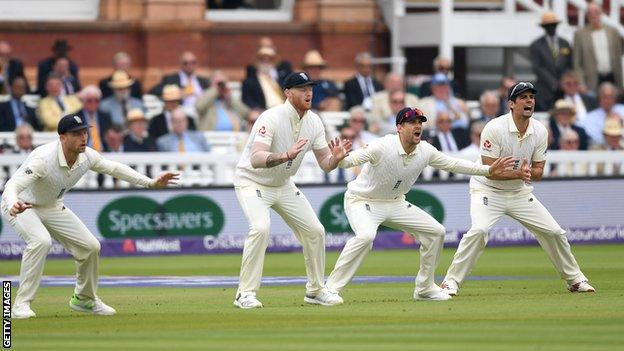 England against Pakistan at Lord's