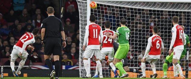 Giroud own goal