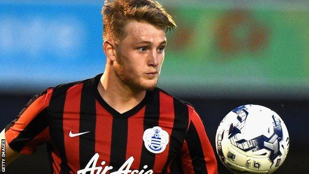 Coll Donaldson in action for QPR