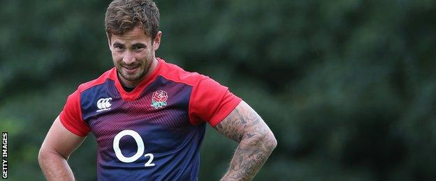 Danny Cipriani loses out to George Ford and Owen Farrell