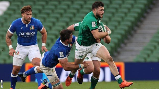 Henshaw replaces injured Ringrose for Ireland's Six Nations decider in France thumbnail