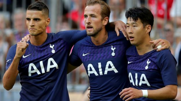 Real Madrid 0-1 Tottenham: Harry Kane scores only goal in Audi Cup thumbnail