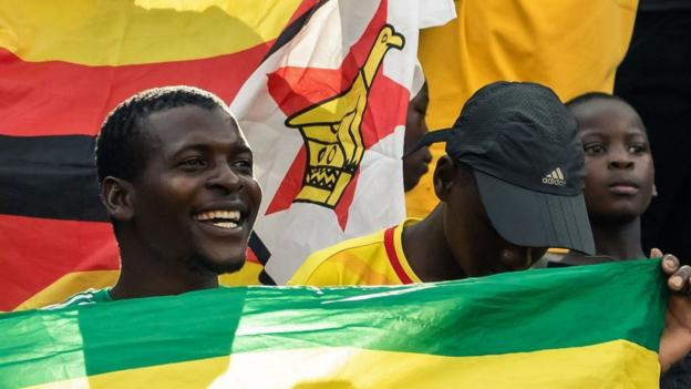 Zimbabwe fans