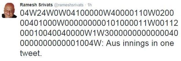 Ramesh Srivats tweet