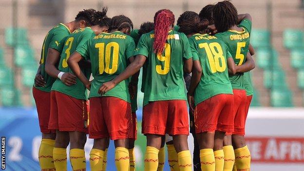 Cameroon's Women's team