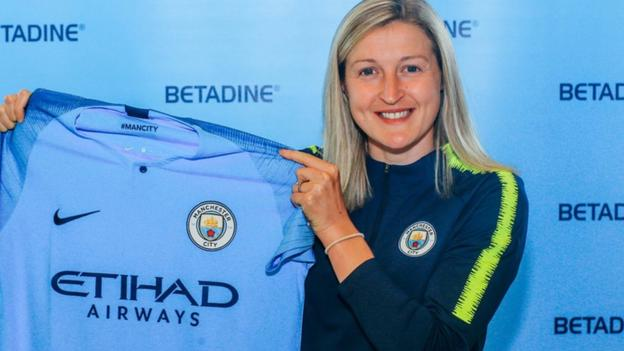 Ellen White: Manchester City sign Birmingham City and England striker thumbnail