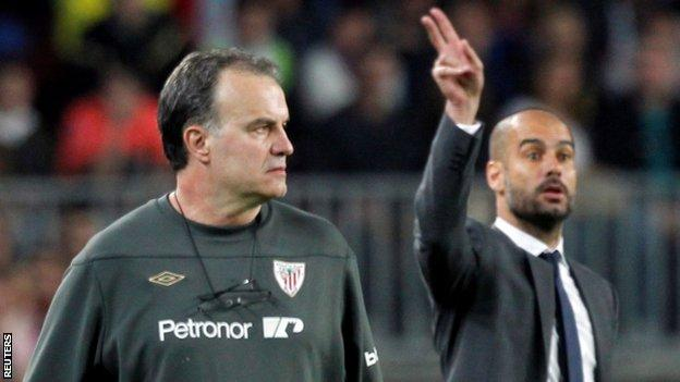 Guardiola and Bielsa, the reunion of student and mentor