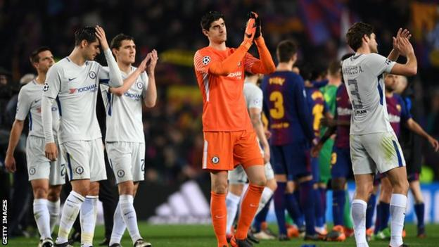 Chelsea conceded three goals in a Champions League game for the third time this season