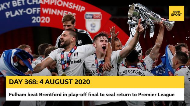 Fulham promoted graphic
