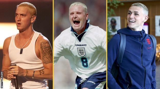 Eminem, Gazza and Phil Foden