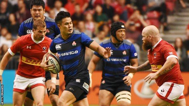 Japan beat Canada in Vancouver last weekend