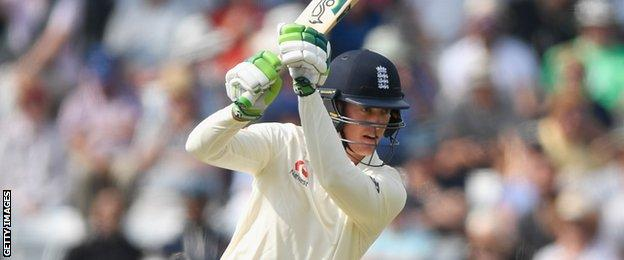 Keaton Jennings made 29 as England opening pair put on 53