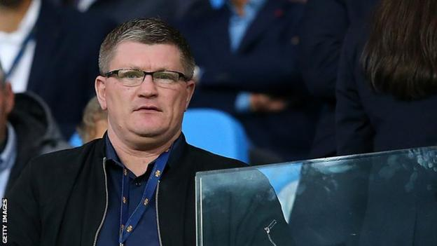 Former world champion boxer and Manchester City fan Ricky Hatton was among the 51,000 in attendance
